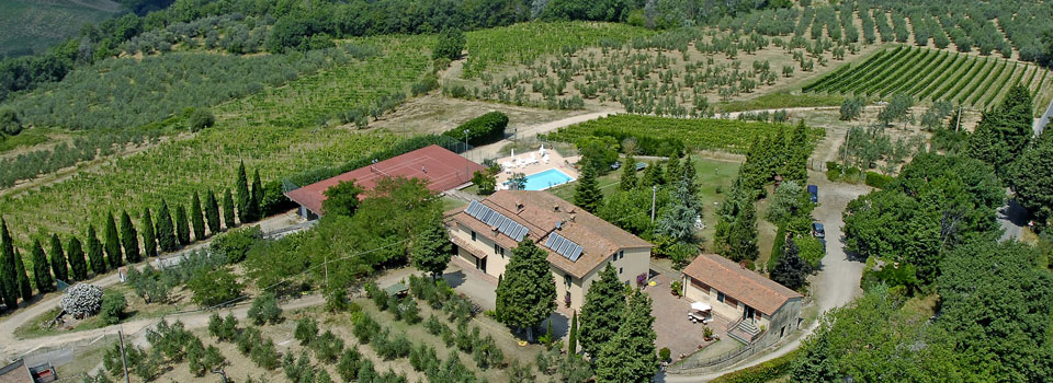 Apartment Chianti swimming pool and tennis